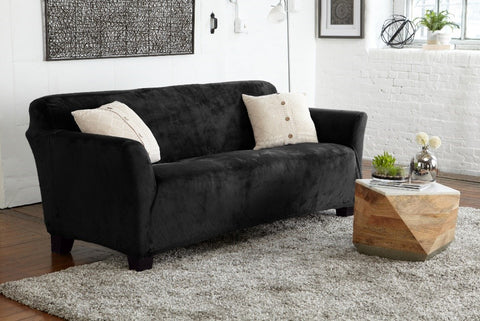 Gale Collection velvet plush slipcover