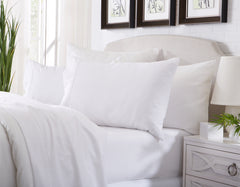 white bamboo sheets
