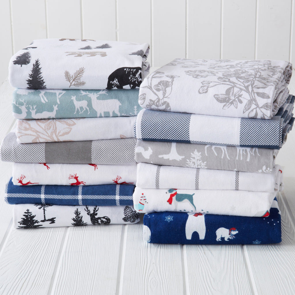 Lakeview Flannel Sheets