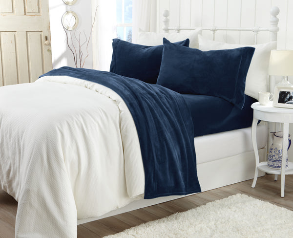 Great Bay Home sheet set (Velvet Luxe Collection)