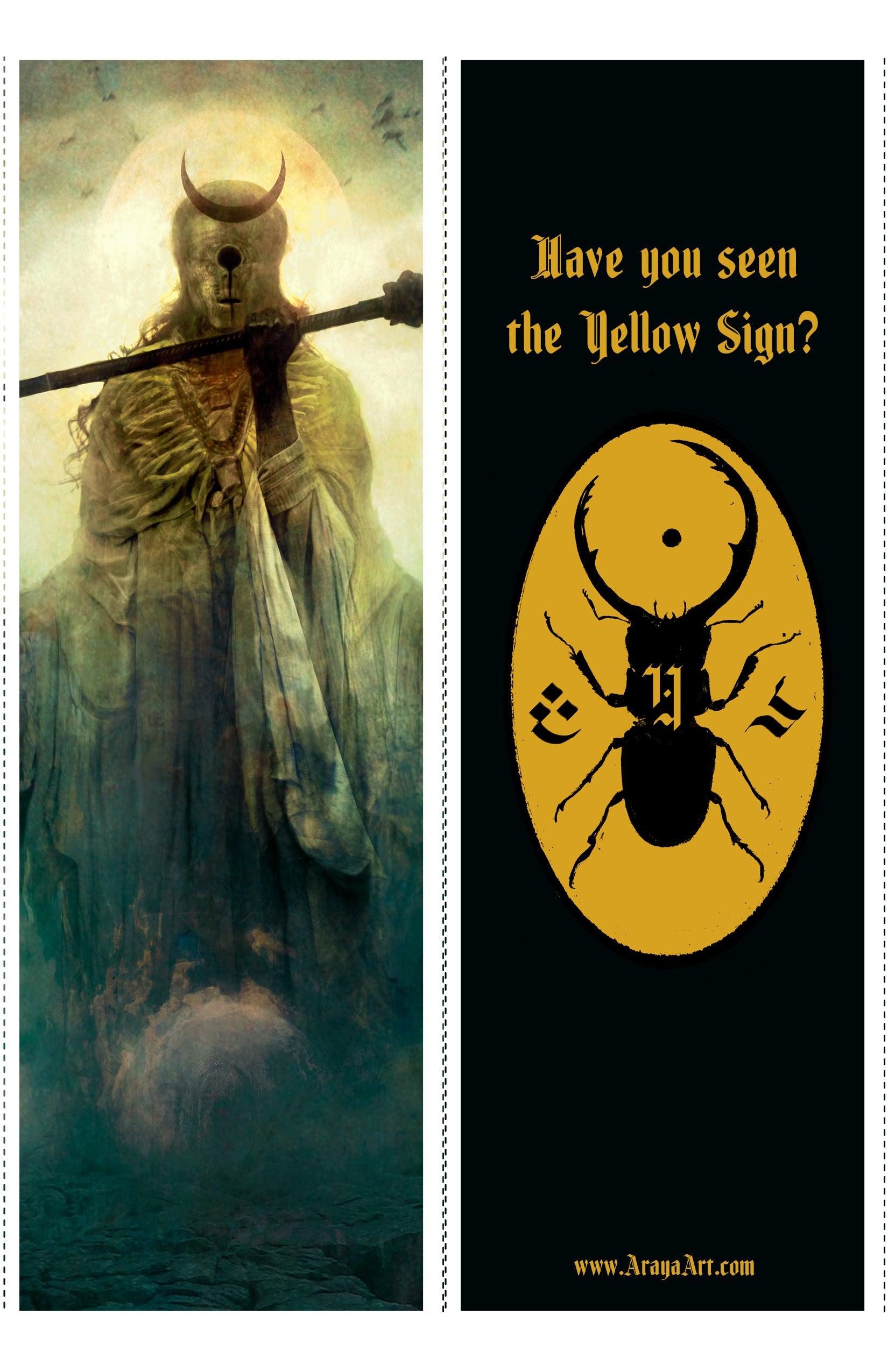 The King in Yellow bookmark