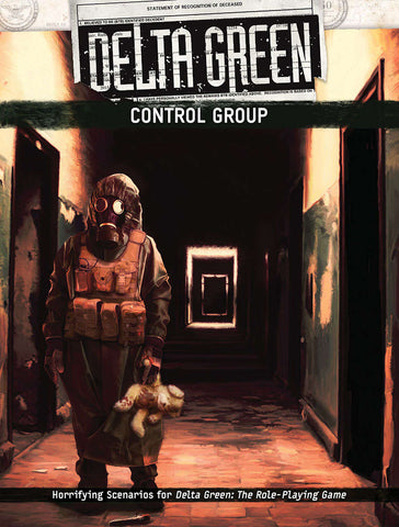 Delta Green: Control Group (hardback)