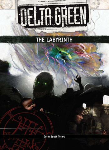 Delta Green: The Labyrinth (hardback + PDF)