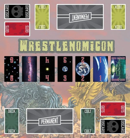 Wrestlenomicon Playmat