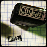 Delta Green Logo Stamp