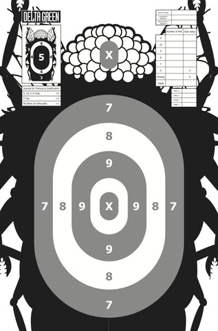 Delta Green: Shooting Targets - Mi-Go (10)