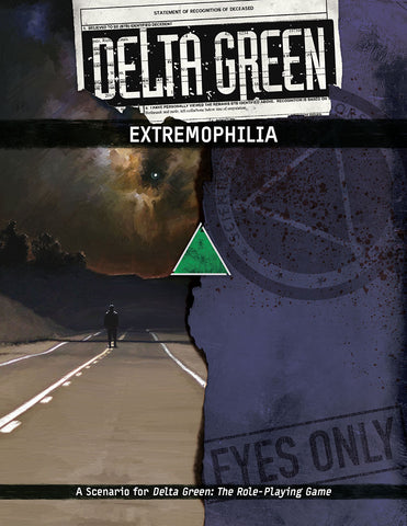 Delta Green: Extremeophilia - Arc Dream Publishing