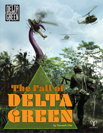 The Fall of Delta Green (hardback)