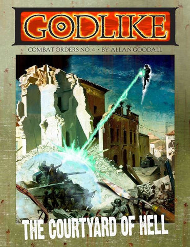 GODLIKE: The Courtyard of Hell (paperback)