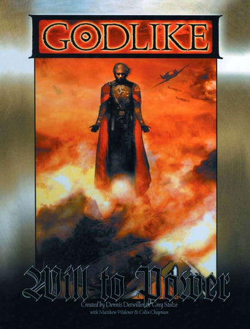 GODLIKE: Will to Power (hardback)