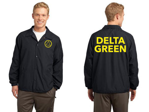 Delta Green Raid Jacket (Distressed Ink)