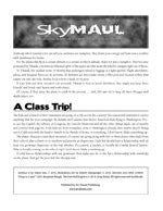 Monsters and Other Childish Things: SkyMaul (PDF only)