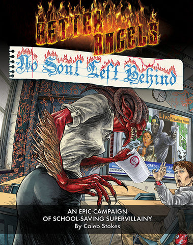 Better Angels: No Soul Left Behind (hardback)