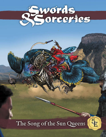 Swords & Sorceries: The Song of the Sun Queens (paperback)