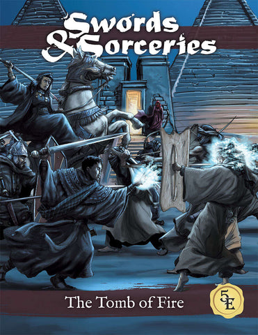 Swords & Sorceries: The Tomb of Fire (paperback)