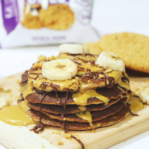 Banana Oatmeal Cookie Pancakes