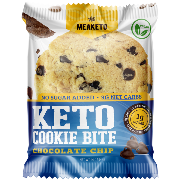 KETO Chocolate Chip - MPB Snacks