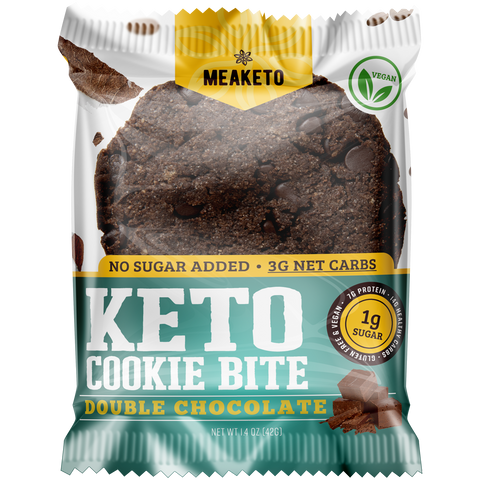 Double Chocolate Keto Cookie - Box of 10 - MPB Snacks