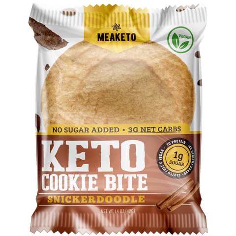 Snickerdoodle Keto Cookie - MPB Snacks
