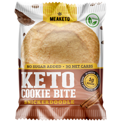 Snickerdoodle Keto Cookie - Box of 10 - MPB Snacks
