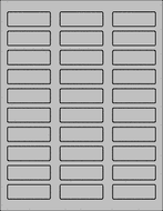 Label Sheets, Gray 2.25