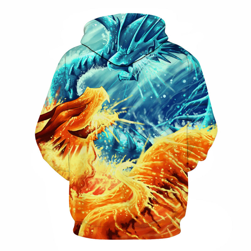 Ice And Fire Dragons Unisex Hoodie