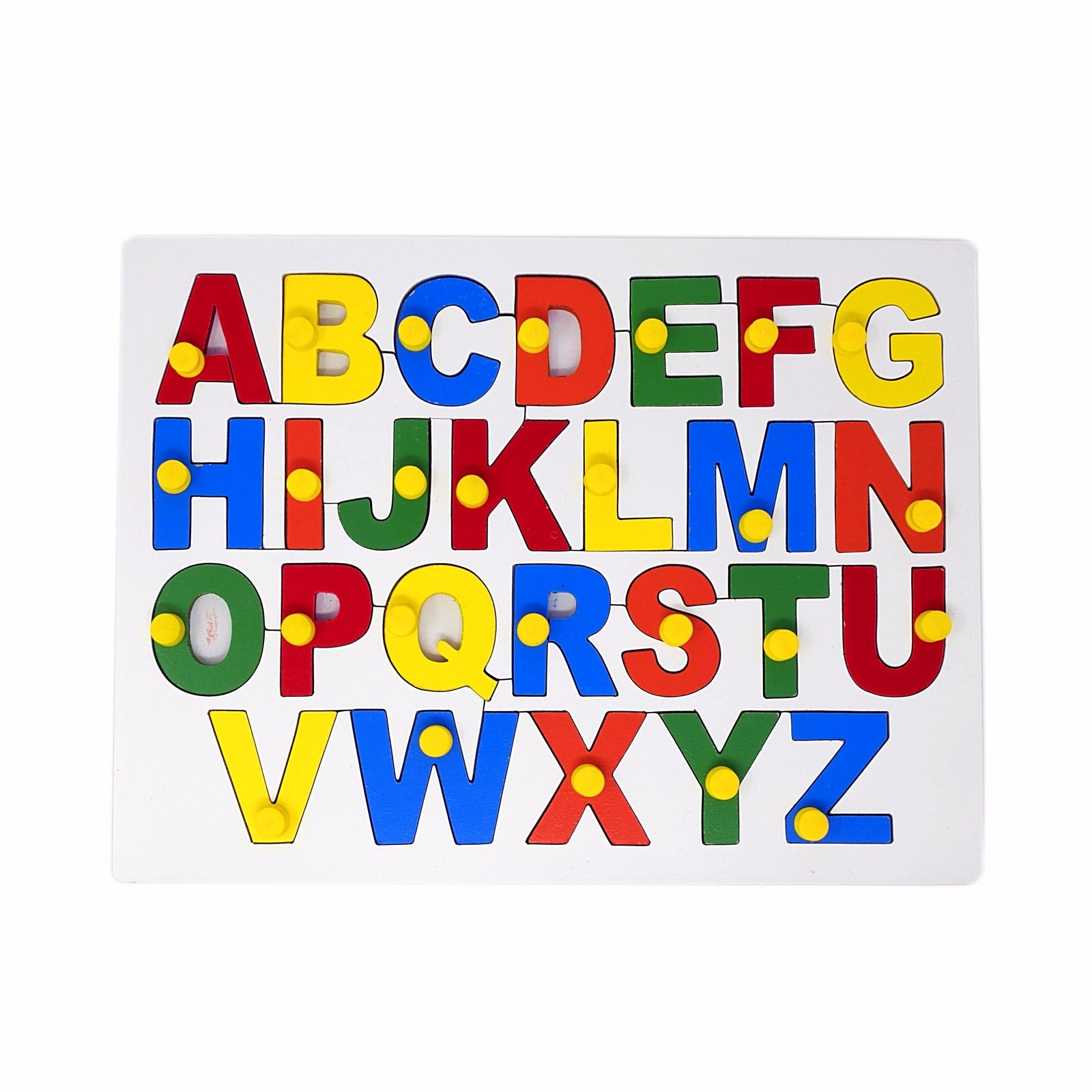 Uppercase Alphabet Board Early Learning Wooden Educational Toy