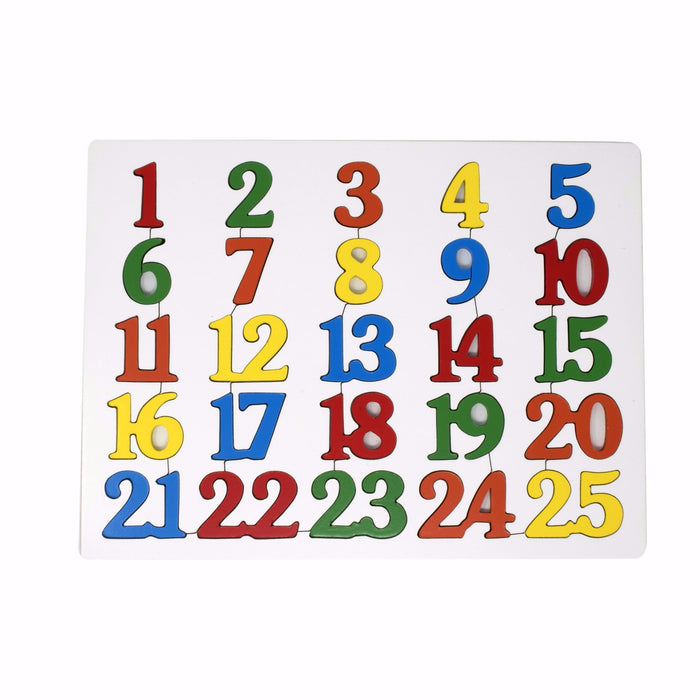 Number Inset Puzzle 1-100 (set of 4 boards)