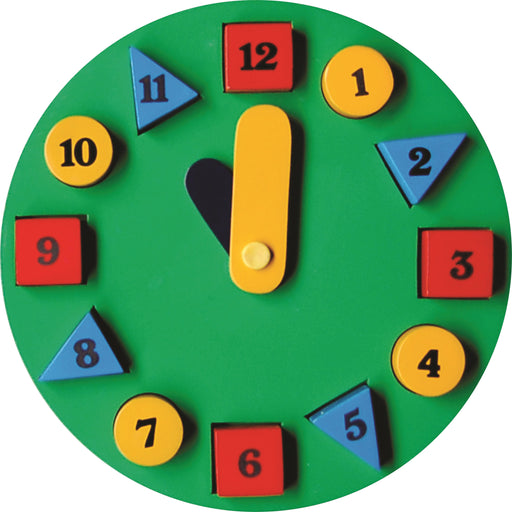 Geometric Shape Sorting Clock