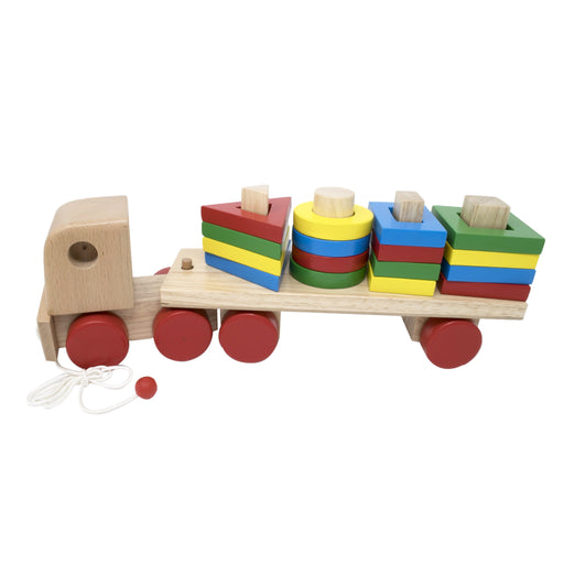 Geometric Shapes Stacking Truck (Single peg/shape)