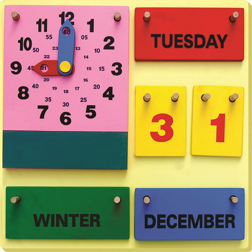 Teach me Clock, Seasons and Calendar