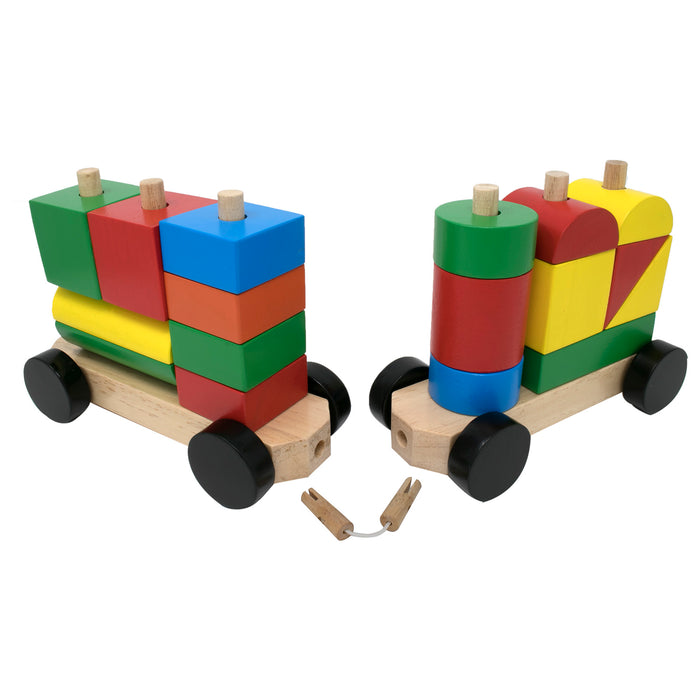 Stack and Sort Train (23 blocks)