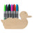 Marker / Pen / Pencil wooden Holder - Duck™