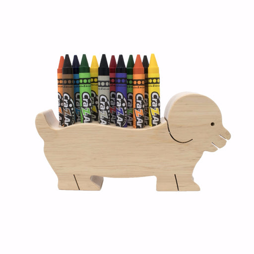 Marker / Pen / Pencil wooden Holder - Dog™
