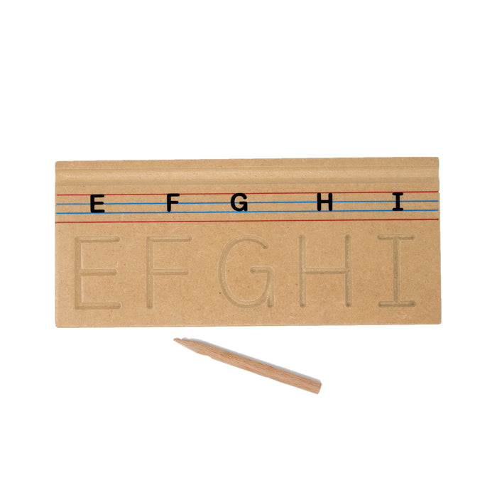 Carving English Alphabets Uppercase™ (ABC- Set of 6 boards)