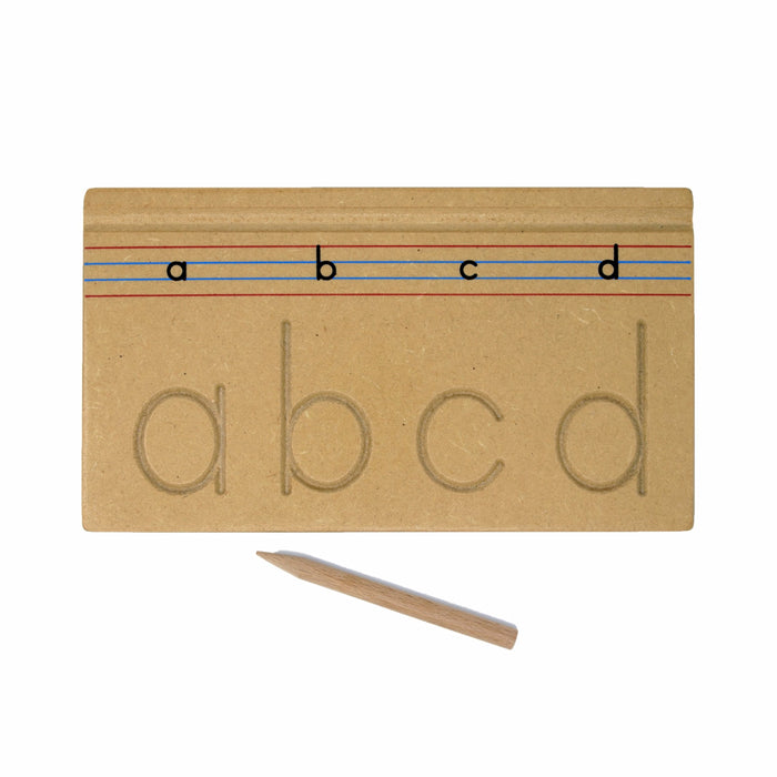 Carving English Alphabets Lowercase™ (abc- Set of 6 boards)
