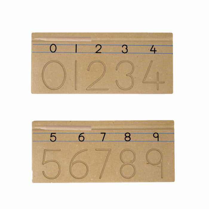 Carving Numbers™ (0 to 9 -  Set Of 2 Boards)