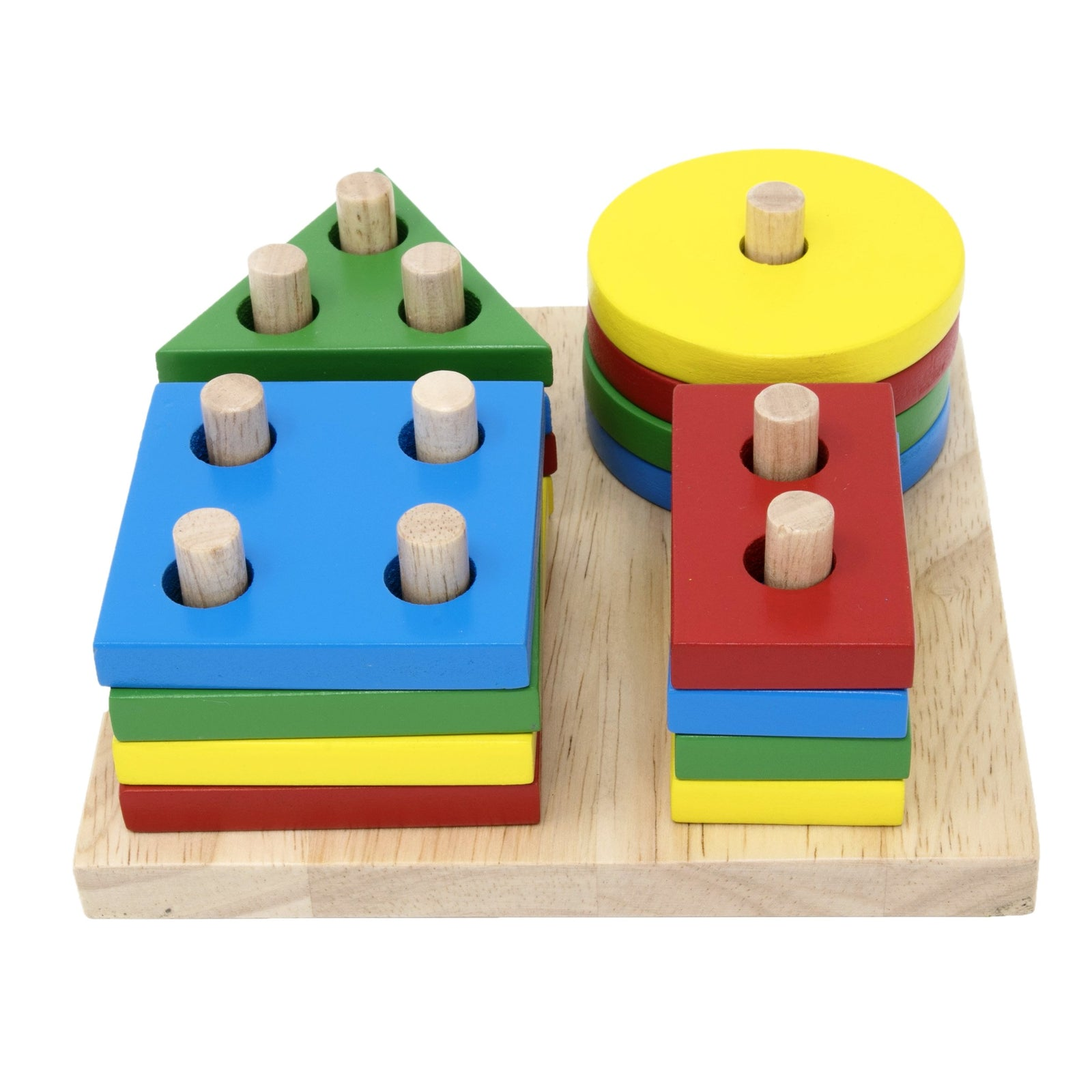 Geometric shape Sort Early Learning Wooden Toy Educational Toy