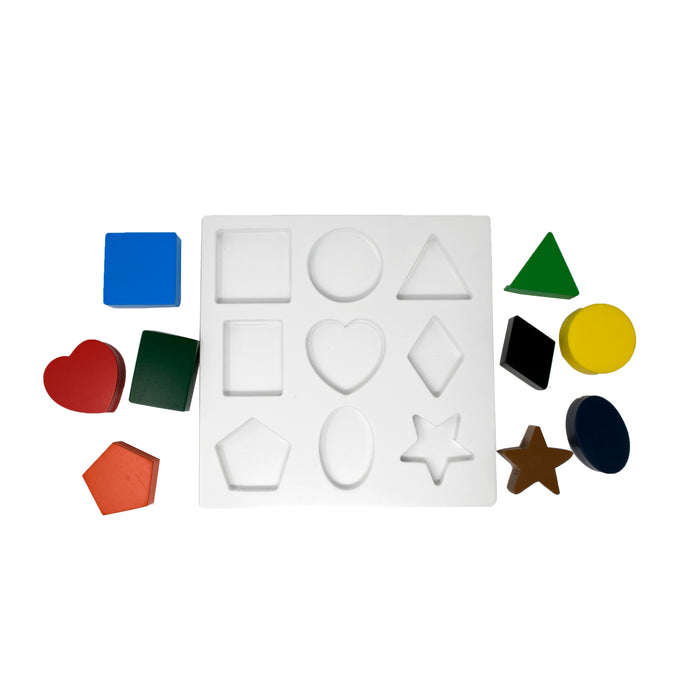 Multishape Geometric Sorting Board