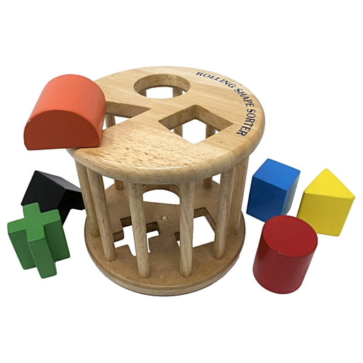 Shape Sorter Rolling Set