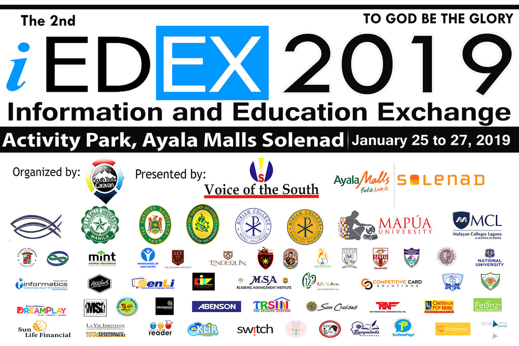 The 2nd Information and Education Exchange - iEDEX 2019
