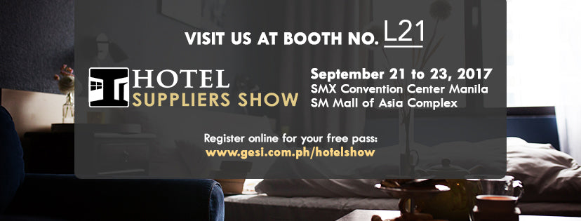 Proudly invites you to the PHILIPPINES' BIGGEST HOSPITALITY SOURCING EXPO!