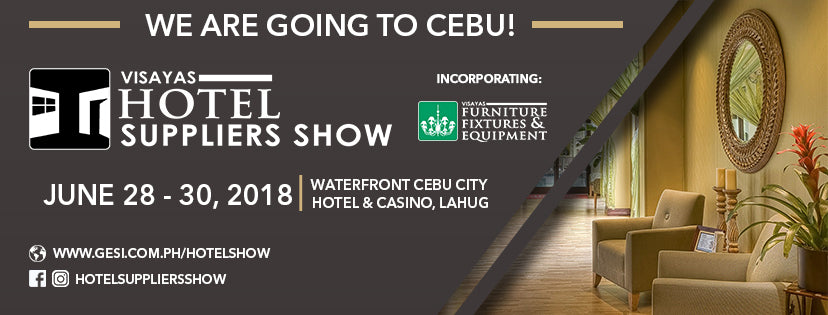 The Biggest Hospitality Industry Sourcing Expo in Manila is Coming to Cebu!