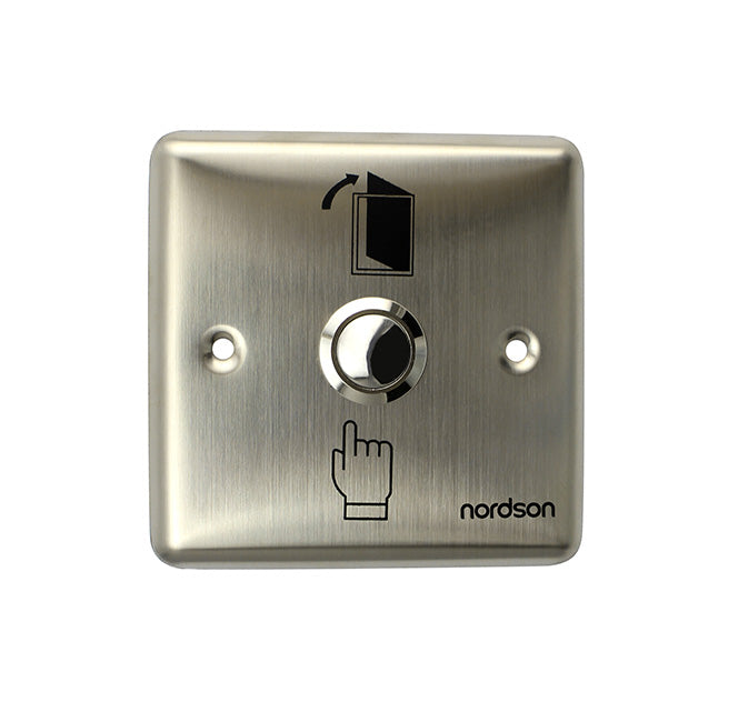 Nordson NF-80 Exit Push Button (Stainless steel)