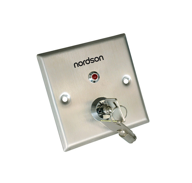 Nordson NF-83L Key Switch / Emergency Switch / Lock By Pass Switch