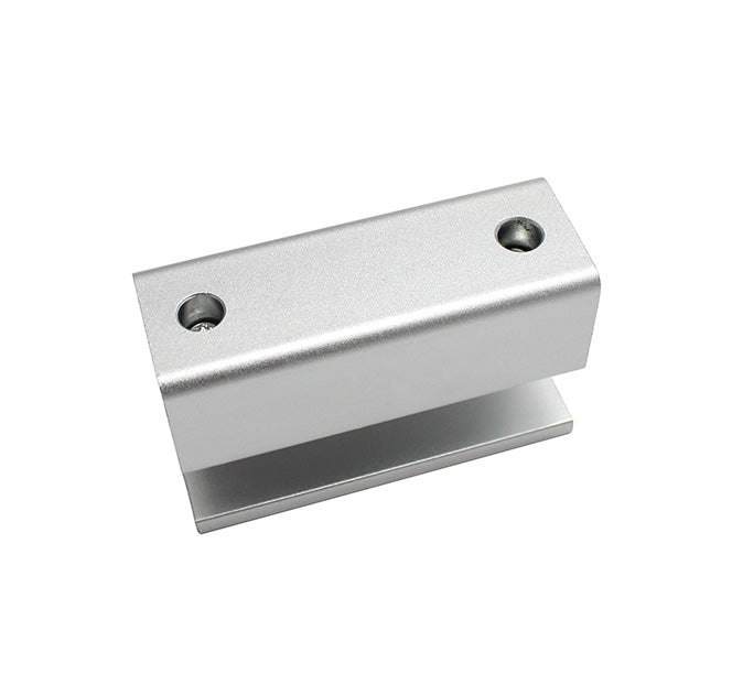 Nordson RB-100C Frameless Glass Small Aluminum Bracket for Electric Bolt