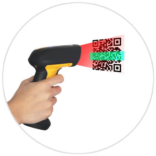 Sunlux XL-9529 2D Wireless Barcode Scanner