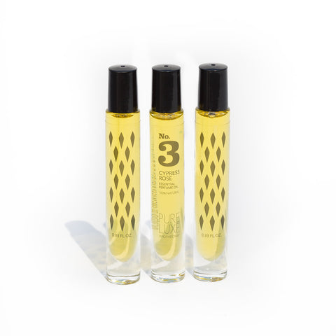 No.3 Cypress Rose Perfume Oil