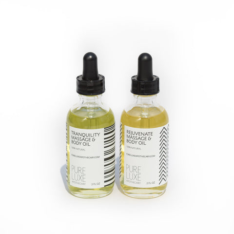 Massage & Body Oil Set