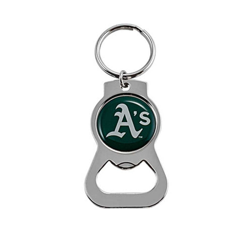 Oakland Athletics Bottle Opener Key Ring